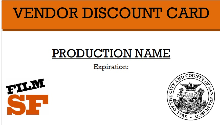 Vendor Discount Card