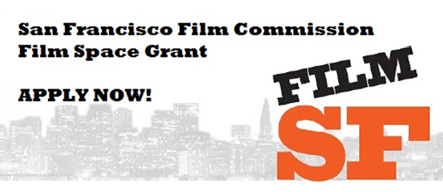 San Francisco Film Commission Film Space Grant – Apply Now!